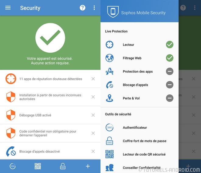 Sophos Antivirus pour Android