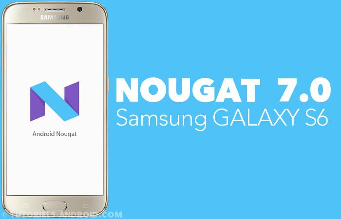 G920FXXU5ERB1 : installer Android Nougat - GALAXY S6