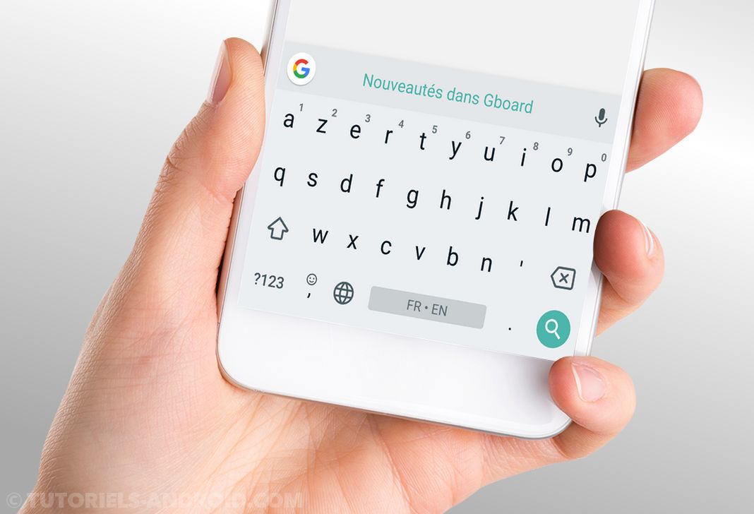 Clavier Gboard Android