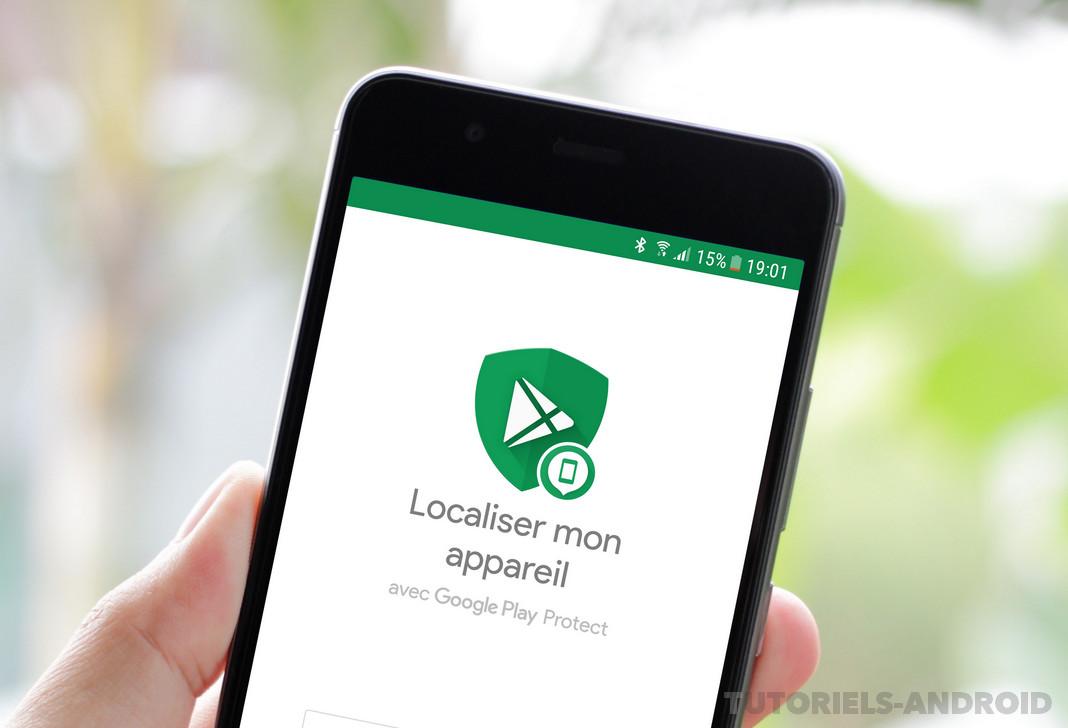 Localiser un appareil Android volé ou perdu