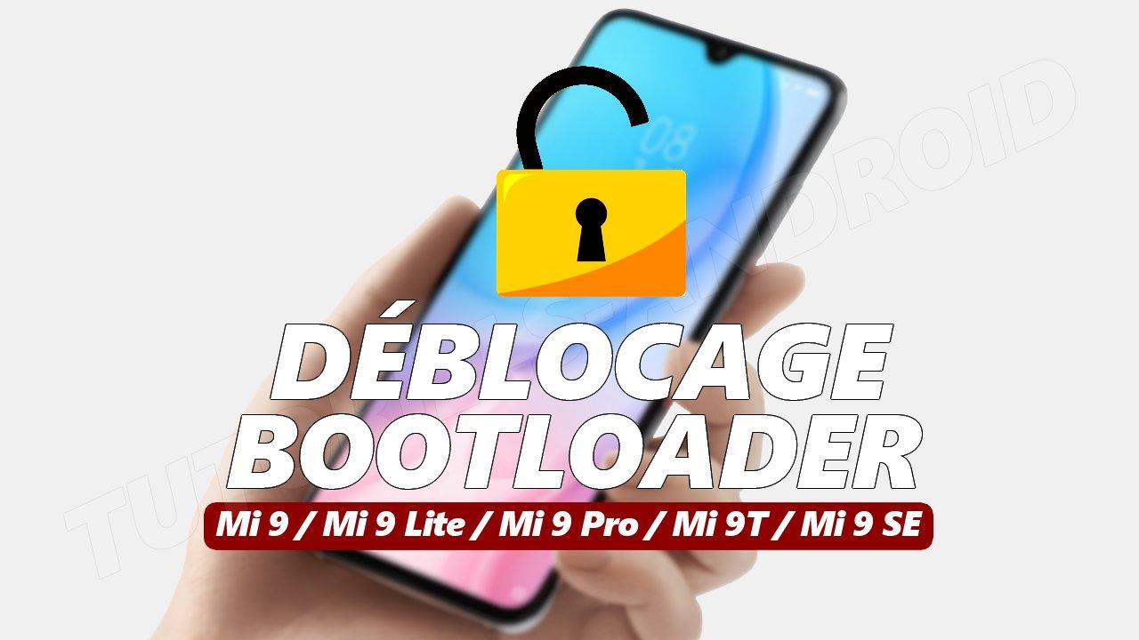 Unlocking Bootloader Mi 9x