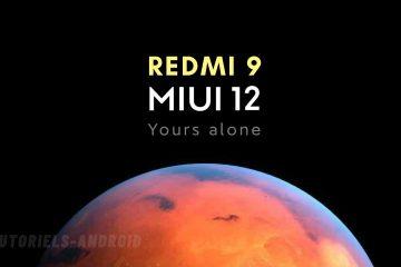 MIUI 12 Redmi 9