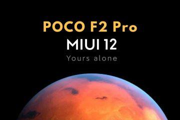 POCO F2 Pro MIUI 12
