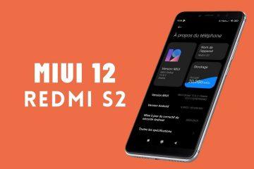 MIUI 12 pour Redmi S2
