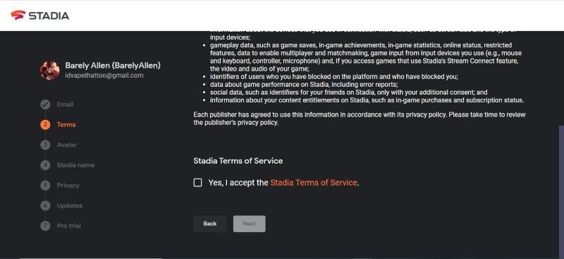Stadia Terms Of Society