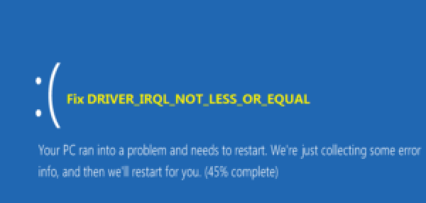 Overview of IRQL-Not-Less-Or-Equal errors
