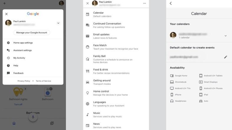add a google calendar to your smart speaker