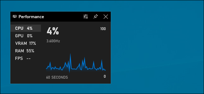 How to see the frames per second of any game in Windows 10