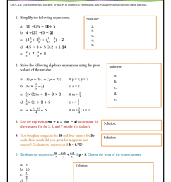 5th Grade Common Core Math Worksheets [ 1123 x 794 Pixel ]