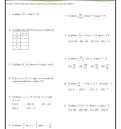 6th Grade Common Core Math Worksheets [ 1123 x 794 Pixel ]