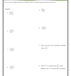 8th Grade Common Core Math Worksheets [ 1123 x 794 Pixel ]