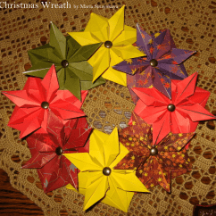 Christmas Origami Flower Diagram Apc Smart Ups 1500 Battery Wiring A Collection Of 20 43 Models