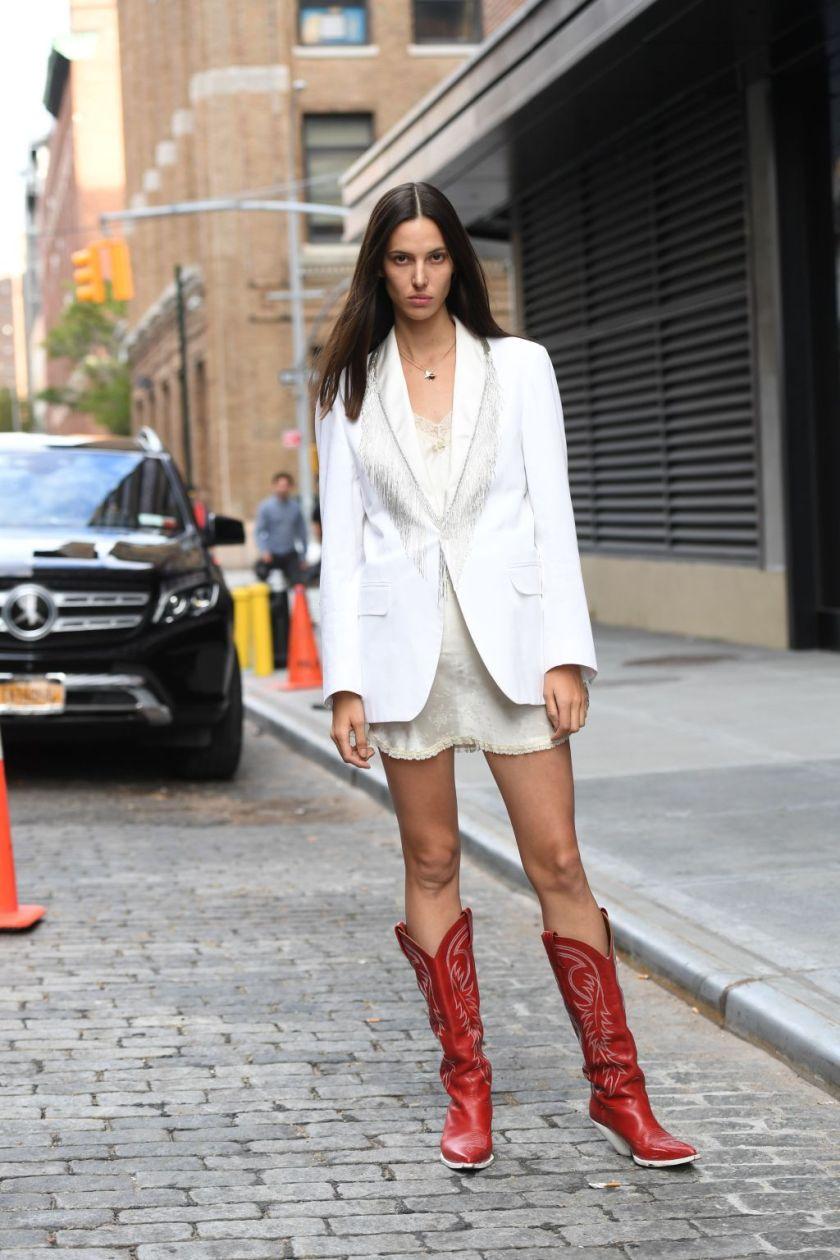 Street Style, Spring Summer 2020, New York Fashion Week, USA - 07 Sep 2019