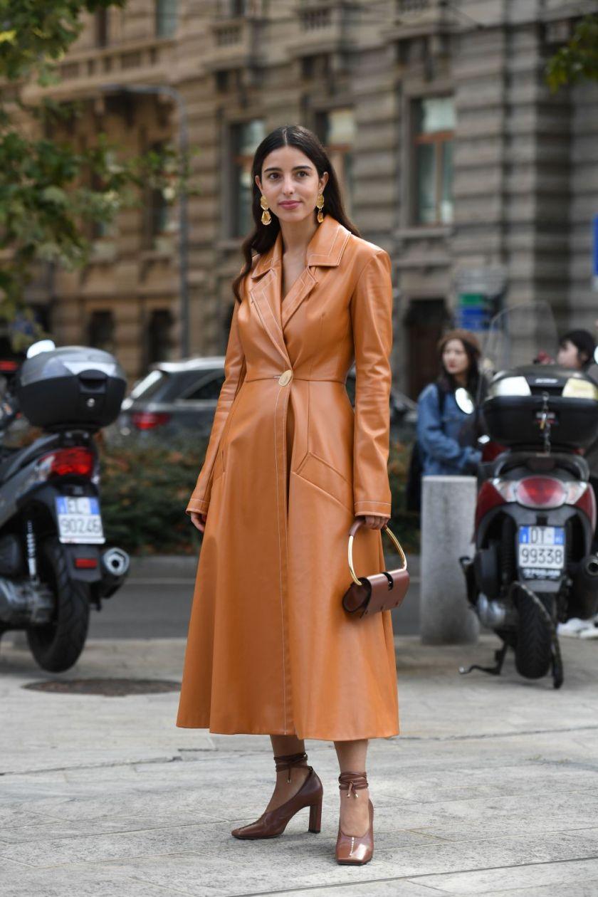 Street Style, Spring Summer 2020, Milan Fashion Week, Italy - 20 Sep 2019
