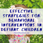 This Tutor in Tinseltown blog article by Stephanie Ortega discusses behavioral interventions including reinforcement, punishment, and extinction. It also covers research on using praise and negative feedback with young children and adolescents.