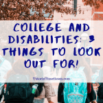 When it comes to college and disabilities, a learning or physical disability can make obtaining higher education a challenge, but most colleges have policies and plans in place for these students. It's just important that you look into what certain colleges offer before you make your decision on where to go.