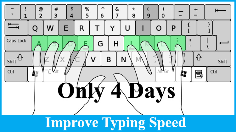 how to typing speed