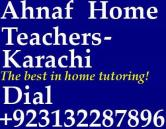 accounting tutor in karachi, home tutoring agency, private tuition center