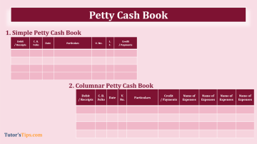 Petty Cash book feature image 2 - Financial Accounting Tutorial
