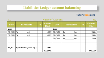 liabilities Ledger account balancing Feature Image - Financial Accounting Tutorial