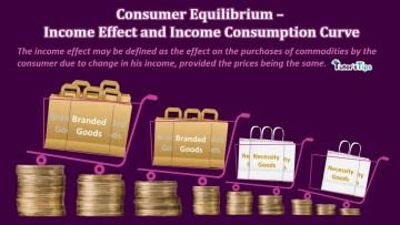 Consumer Equilibrium Income Effect and Income Consumption Curve - Business Economics