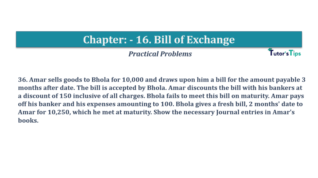 Question No 36 Chapter No 16