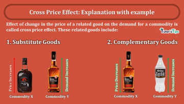 Cross Price Effect Explanation with example min - Business Economics
