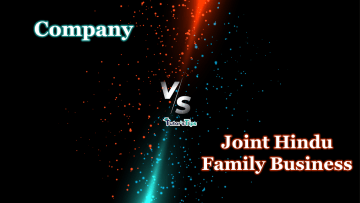 Difference between Company and Joint Hindu Family Business min - Differences - Business Studies