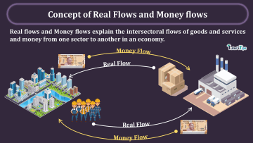 Concept of Real Flows and Money flows min - Business Economics