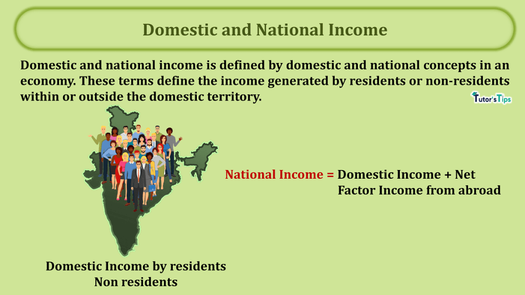 Domestic and National Income