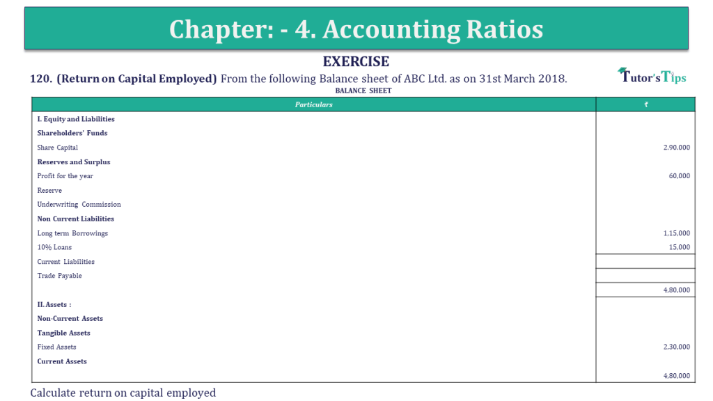 Question 120 Chapter 4 of +2-B