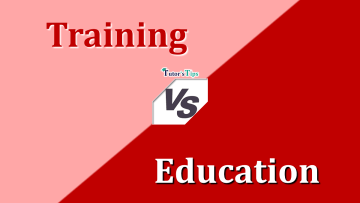 Difference Between Training and Education min - Differences - Business Studies