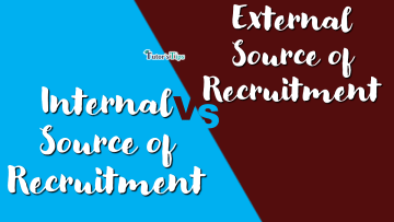 Difference between Internal Source and External Source of Recruitment min - Differences - Business Studies