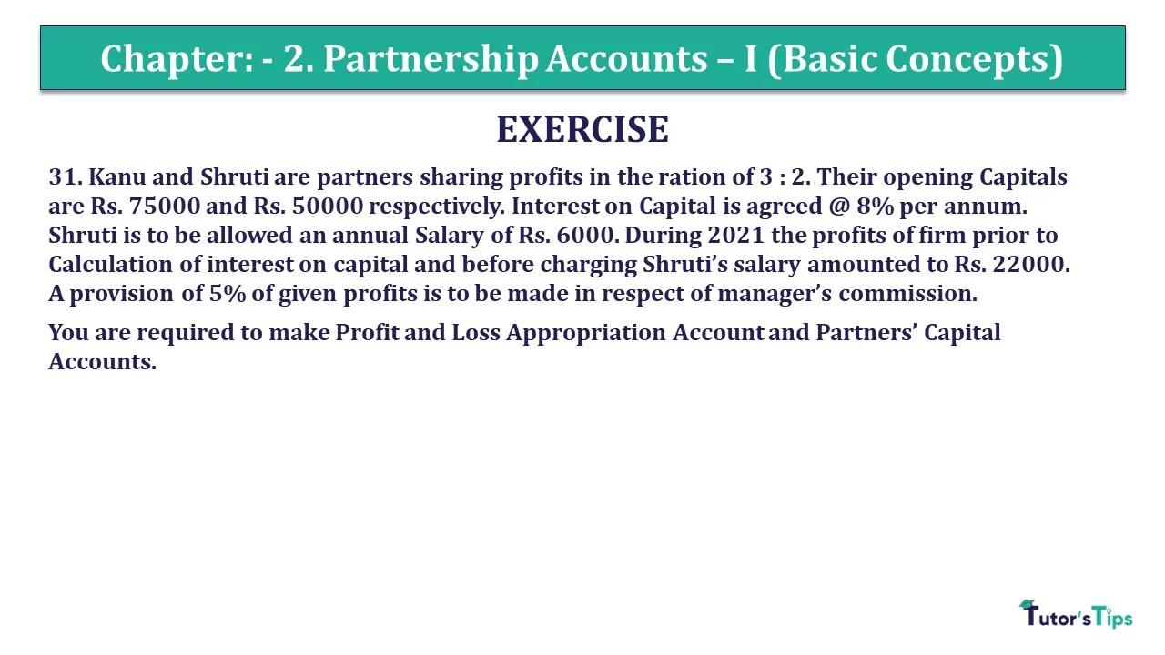 Question 31 Chapter 2 - Unimax Class 12 Part 1 - 2021