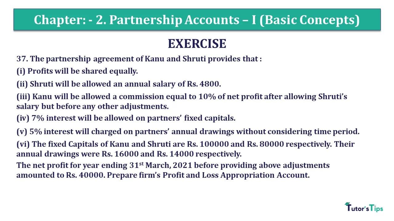Question 37 Chapter 2 - Unimax Class 12 Part 1 - 2021