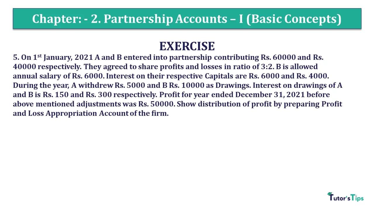 Question 5 Chapter 2 - Unimax Class 12 Part 1 - 2021
