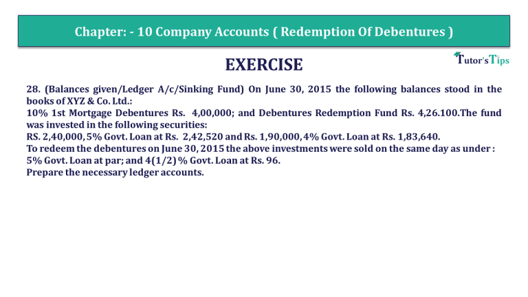 Question 28 Chapter 10 of 2 Part 1 USHA Publication 12 Class Part 1 min - Portfolio Financing: Charge, Names, Certifications & Locating