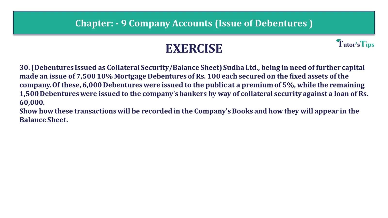 Question 30 Chapter 9 of +2-Part-1 - USHA Publication 12 Class Part - 1