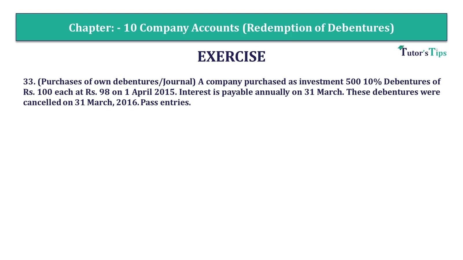 Question 33 Chapter 10 of +2-Part-1 - USHA Publication 12 Class Part - 1