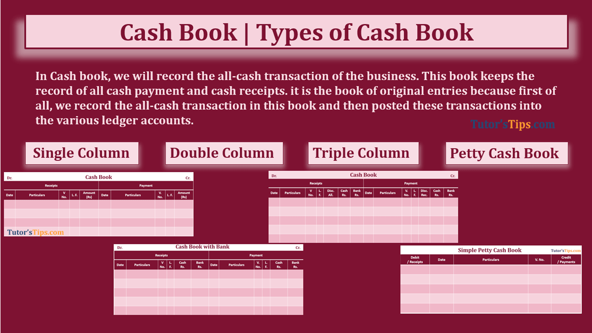 Cash book feature image