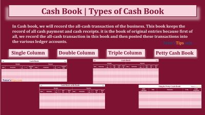 Cash book feature image