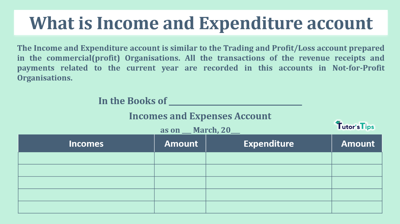 What is Incomes and Expenses account - Feature Image-min