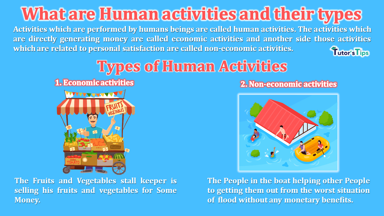 What-are-Human-activities-and-their-types