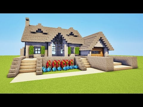 Exemple maison minecraft latest le with exemple maison for Modele maison minecraft