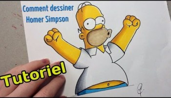 Comment Dessiner Homer Simpson Tutoriel