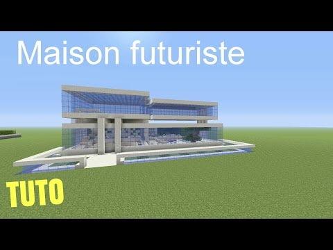 Tuto minecraft maison futuriste ps4 ps3 xbox360 xboxone for Tuto maison moderne minecraft xbox 360