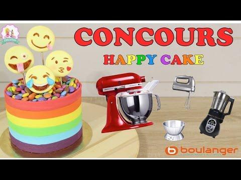 ♡• CONCOURS HAPPY CAKE BOULANGER – GÂTEAU EMOJI PATE A SUCRE – CAKE DESIGN – GATEAU CHOCOLAT •♡