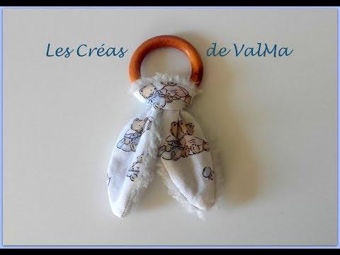 Tuto Couture Hochet «oreilles de lapin» / Sewing