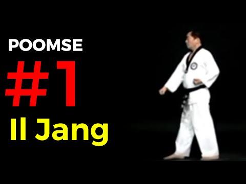 Poomse 1 TAEGEUK IL JANG – Poumsé n°1 en Taekwondo