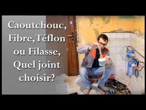 joint teflon joint filasse joint fibre ou caoutchouc quand et comment les utiliser. Black Bedroom Furniture Sets. Home Design Ideas